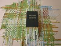 80x80 cm Libro intervenido