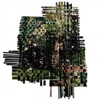 35x30 cm Fotografía tejida. C-Print